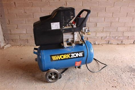 work zone 2 5 hp air compressor 24 litres in livingston west lothian gumtree