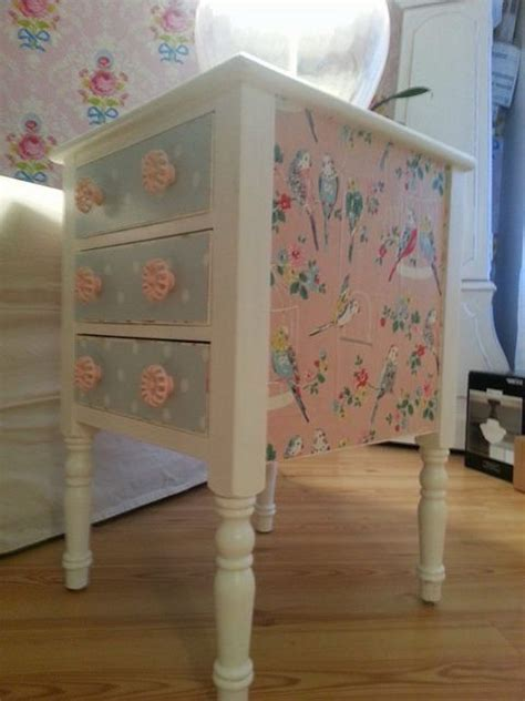 Wrapping Paper Decoupage Furniture - best 25 decoupage furniture ideas on how to