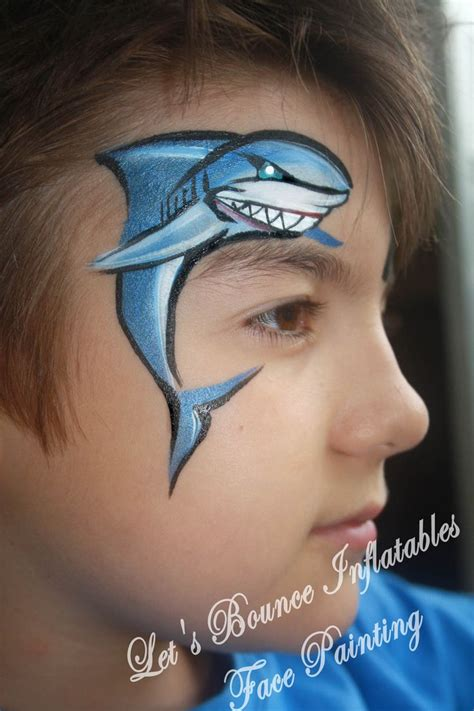 painting ideas face painting shark www pixshark com images galleries