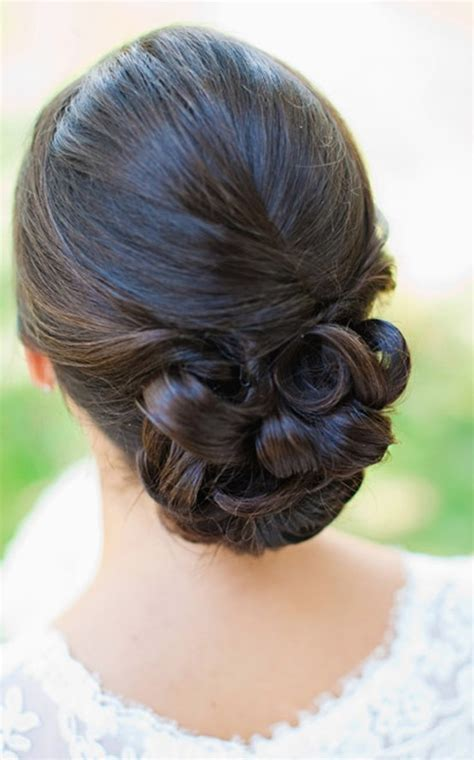 Wedding Hair Bun by Wedding Hair Low Bun