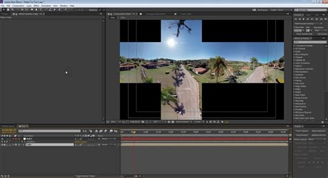 How To Stabilize 360 Drone Footage In After Effects Skybox Studio Mettle After Effects Drone Template