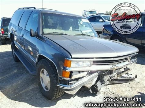 used parts 1999 chevrolet suburban 1500 5 7l l31 v8 4x4 subway truck parts inc auto