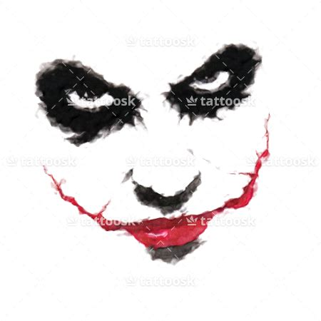 joker tattoo png white ink tattoo on shoulder male models picture