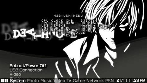 Theme Psp Death Note | psp theme death note ctf for 5 00 free psp themes