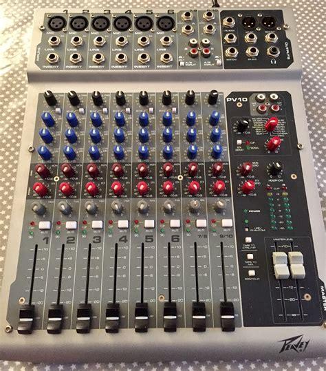 Mixer Lu peavey pv 10 image 1740331 audiofanzine