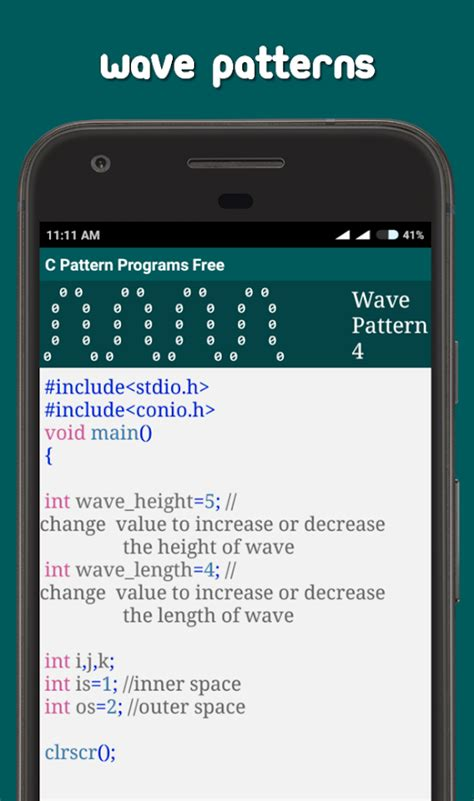 interview pattern programs in c c pattern programs free android apps on google play