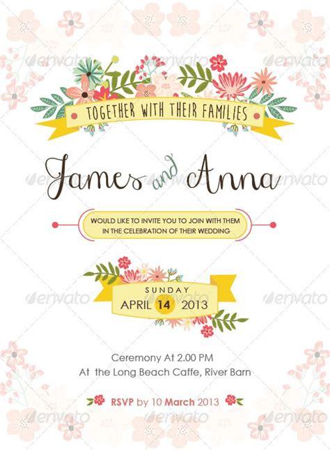 template buat undangan pernikahan download desain undangan pernikahan format vector