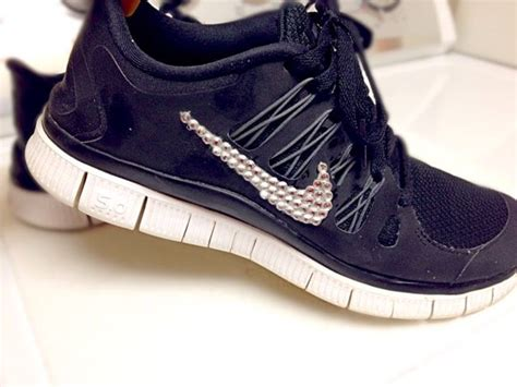 simple sweet diy bedazzled tennis shoes crafts