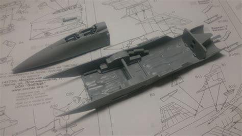 section 72a mig 31 作成経過1 戦闘機 軍用機 プラモデル マサキさんの製作日誌 模型が楽しくなるホビー