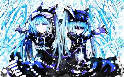 anime armor girl wallpaper cyber miku wallpaper and background 1680x1050 id 520264