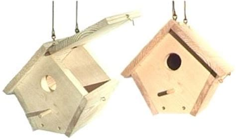 wren bird house plans. like the hinged roof for access to