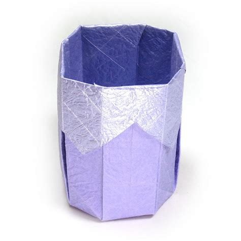 How To Make Paper Cup - how to make a 3d origami paper cup ii flickr photo