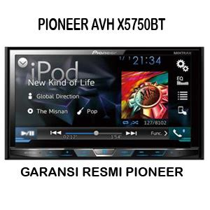 format video untuk double din pioneer avh x5750bt head unit tv double din mobil android