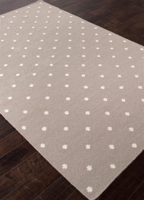 grey and white polka dot rug best decor things