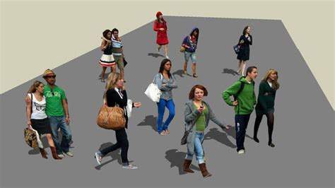 sketchup components warehouse people sketchup warehouse people