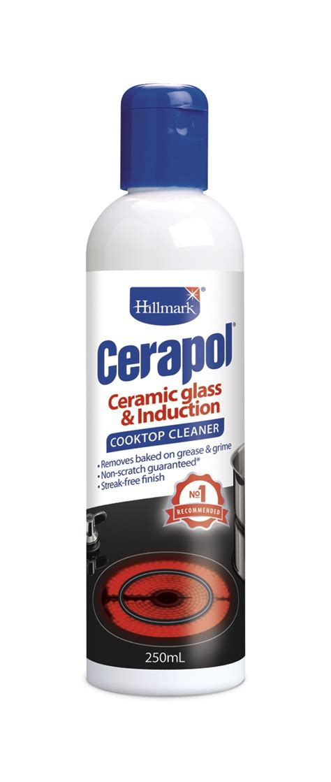 Glass Ceramic Cooktop Cleaner hillmark cerapol ceraseal pack cooktop cleaner protector ebay