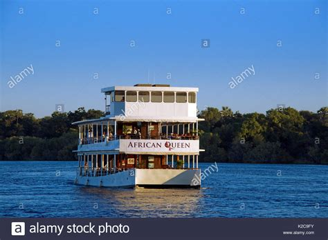 boat cruise zambia zambezi river cruise stock photos zambezi river cruise