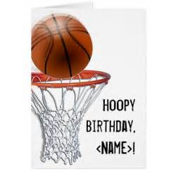 basketball birthday cards basketball birthday card templates postage invitations photocards