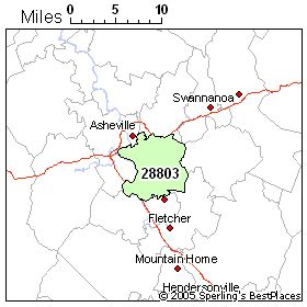 asheville carolina zip code map best place to live in asheville zip 28803 carolina