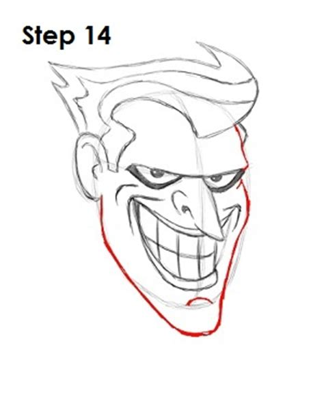 How To Draw The Joker Drawings Of Joker Faces 2
