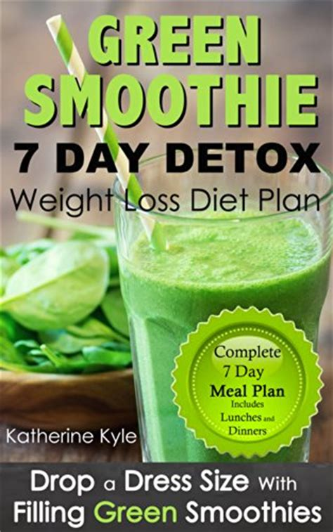 Green Smoothie Detox Diet Plan by Quot 7 Day Green Smoothie Weight Loss Diet Plan Drop