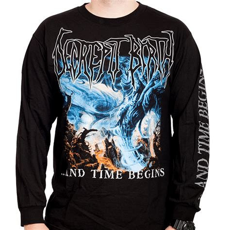 Birth Times Records Decrepit Birth Quot And Time Begins Quot Longsleeve Unique Leader Records