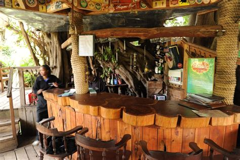 Tree Trunk Bar Top by Photos The Trout Tree Restaurant Nanyuki Kenya