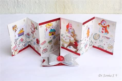 cards crafts projects one sheet mini book