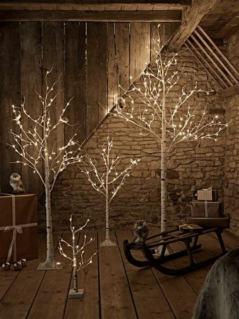 Christmas Decorations With Lights For A Warmer Atmosphere Light Up For Tree