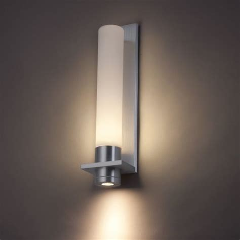 Modern Sconce Light Fixtures Jedi Indoor Outdoor Led Wall Sconce By Modern Forms Modern Wall Lighting By Lumens
