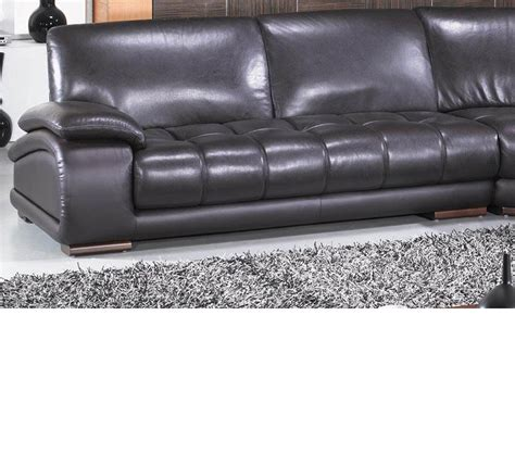 richmond leather sofa dreamfurniture com richmond modern espresso leather