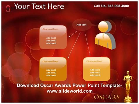 award powerpoint template get oscar awards powerpoint template
