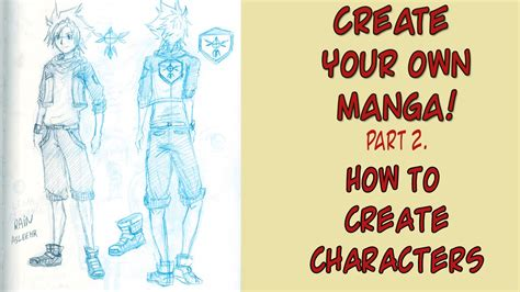 how to make a character how to create characters create your own pt 2