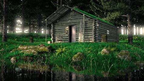 Define Log Cabin by Free Photo Rustic Trees Water Fishing Aged Free
