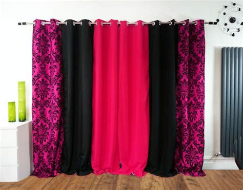 black and fuchsia curtains best 25 pink eyelet curtains ideas on pinterest eyelet