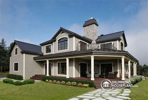 5 bedroom house plans with wrap around porch house plan w6804 detail from drummondhouseplans com