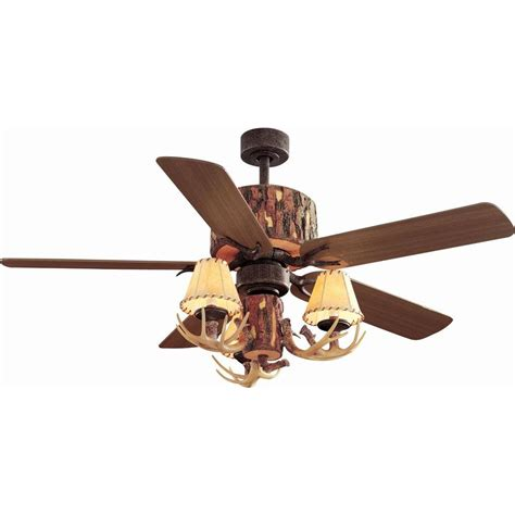 hton bay lodge 52 in nutmeg ceiling fan yg098 nm the