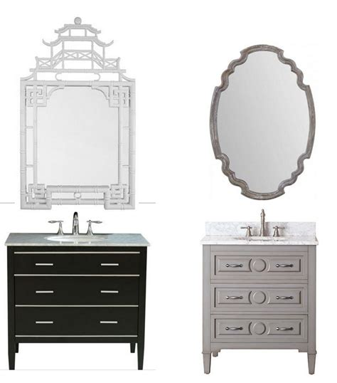 Vanity Combo With Mirror by Bathroom Vanity Mirror Medleys Centsational