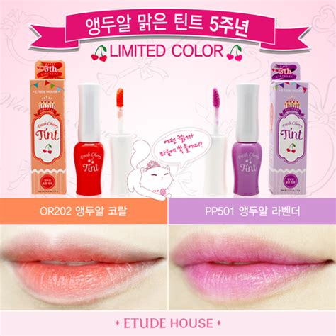 Harga Etude House Store review fresh cherry tint or201 pk002 rd301