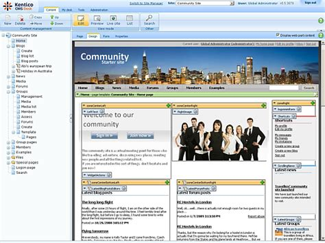 cms templates for asp net kentico cms for asp net an all in one solution for your