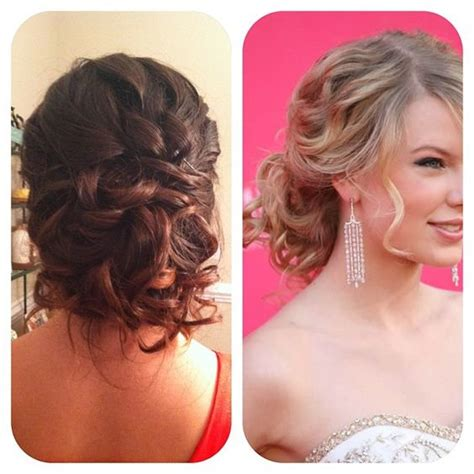 pageant buns prom homecoming updo low messy bun inspired by taylor
