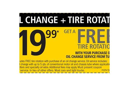 firestone oil change and tire rotation coupons 2018