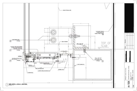 curtain wall parts technical drawings by albert b jackson at coroflot com