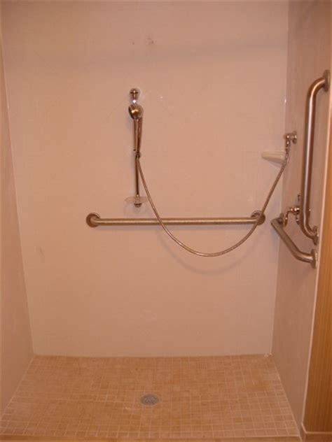 Ada Roll In Shower by Bc General Contractor Inc Current Projects