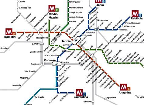 rome metro map rome sai sudah