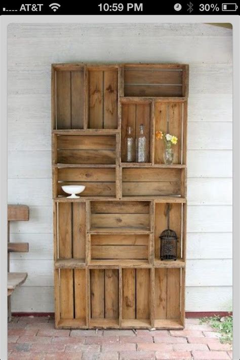 diy pallet serving tray livres wooden crate shelves and