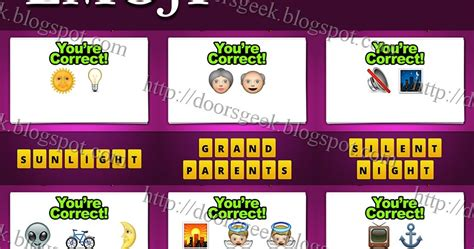 old boat emoji guess the emoji level 7 answers and cheats doors geek