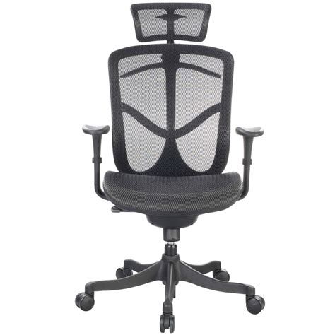 Fuzion Mesh Back Swivel Chair Zuri Furniture Back Swivel Chair