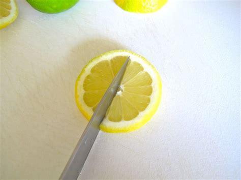How To Make Lemon Twists by How To Make A Lemon Or Lime Twist