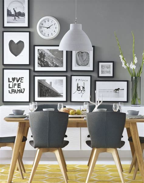 Contemporary Kitchen Wall Decor - the 25 best gray dining rooms ideas on pinterest wood dinning room table grey dinning room